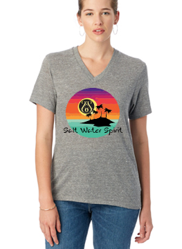 Womens Heather Gray T-shirt